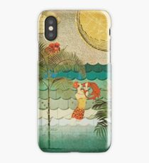 Collage of Coral Bubbles iPhone Case/Skin