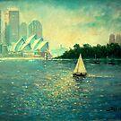Into the Light - Sydney Harbour  by marshstudio