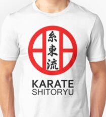 Shitoryu Karate Symbol and Kanji T-Shirt