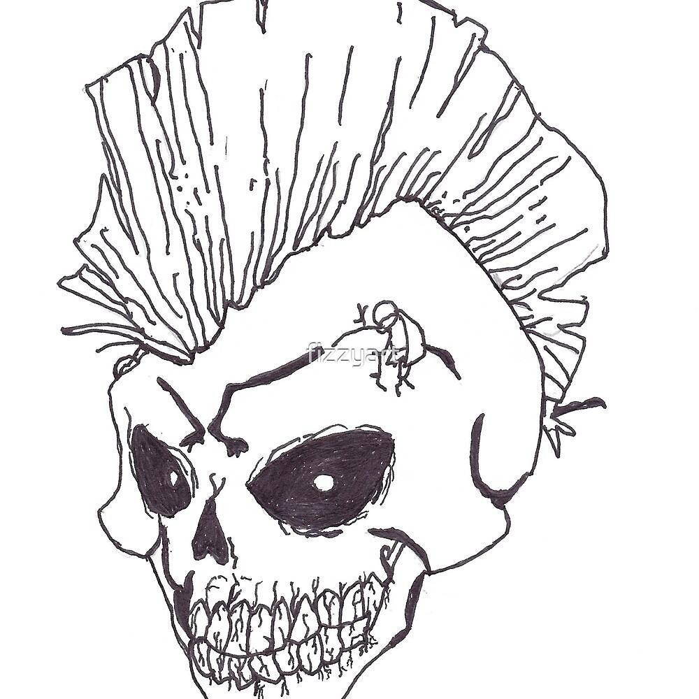Punk Rock Skull\