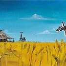 Aussie Backyard by Kim Donald