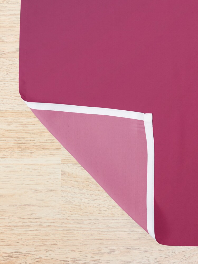 Alternate view of Angle Gradient Shower Curtain