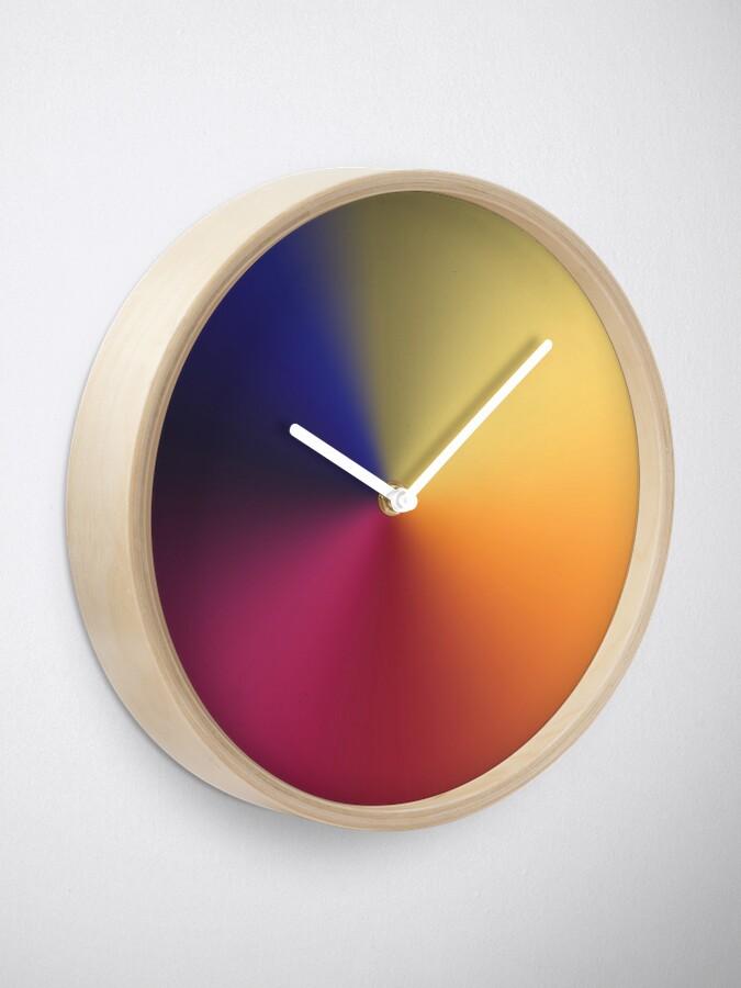 Alternate view of Angle Gradient Clock