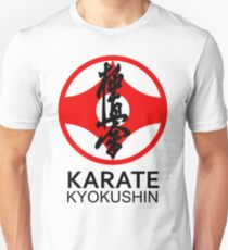 Kyokushin Karate Kanji and Symbol  T-Shirt