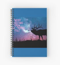 Merry Christmas from The North Pole Spiral Notebook