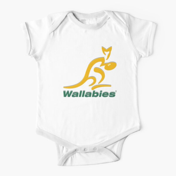 Wallabies Rugby Short Sleeve Baby One-Piece