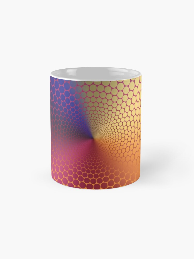 Alternate view of Optical Illusion Angle Gradient on Linear Gradient Mug