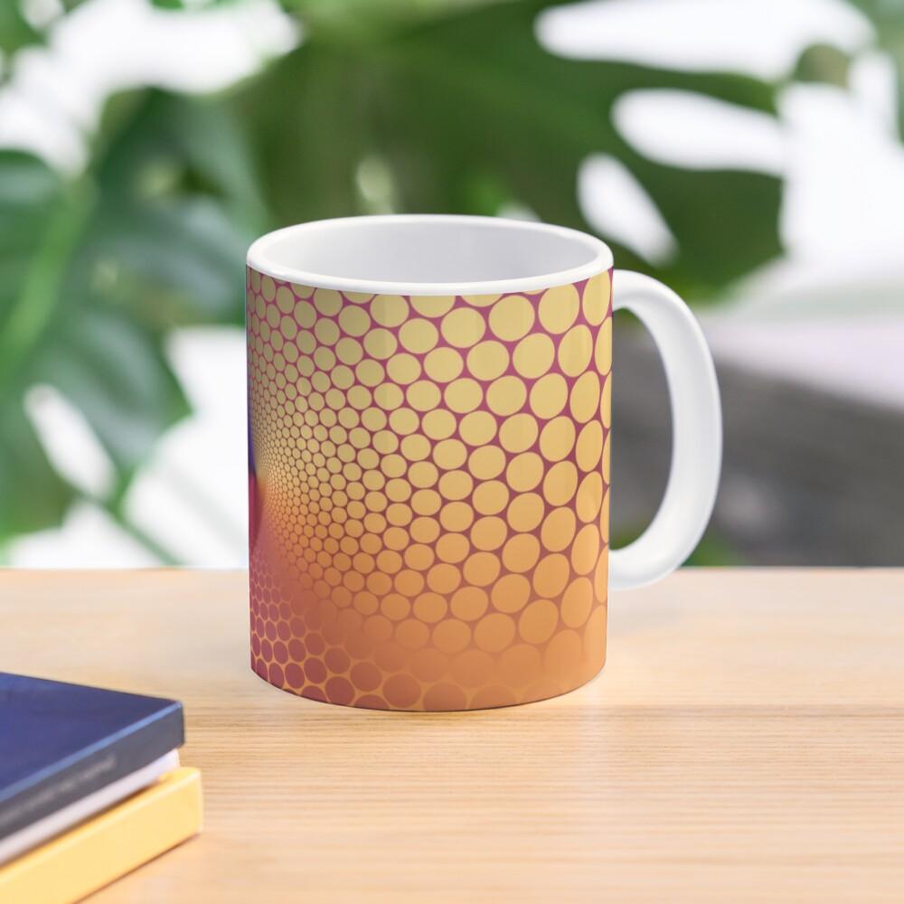 Optical Illusion Angle Gradient on Linear Gradient Mug