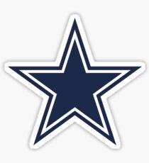 Star Dallas CowBoy Sticker