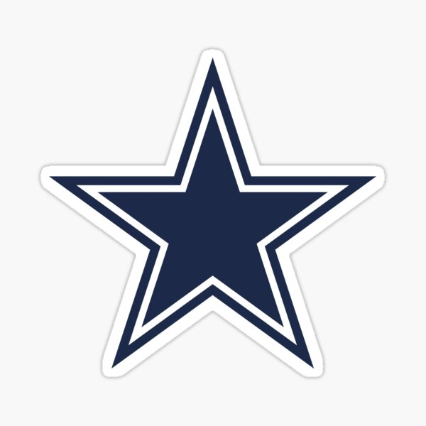 Star Dallas CowBoy Sticker