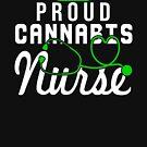 Marijuana Cannabis Support Proud Nurse CBD Cures Awareness Shirt Nurse Hat by normaltshirts