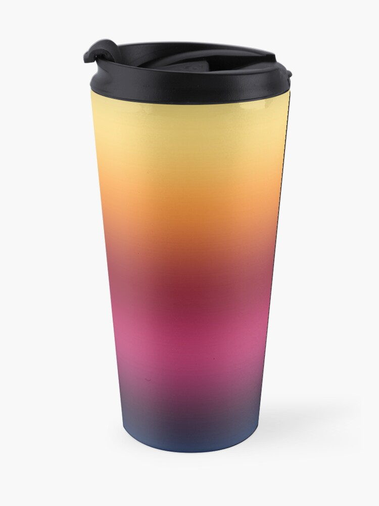 Alternate view of Linear Gradient Travel Mug