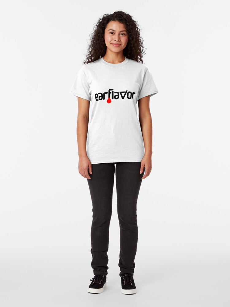 Alternate view of Earflavor Music Promoters Classic Logo Classic T-Shirt