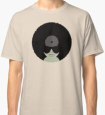 Funky Music Afro Vinyl Records Classic T-Shirt
