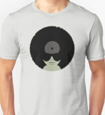Funky Music Afro Vinyl Records T-Shirt