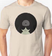 Funky Music Afro Vinyl Records Unisex T-Shirt