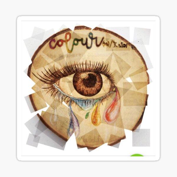 Eye for colour Sticker