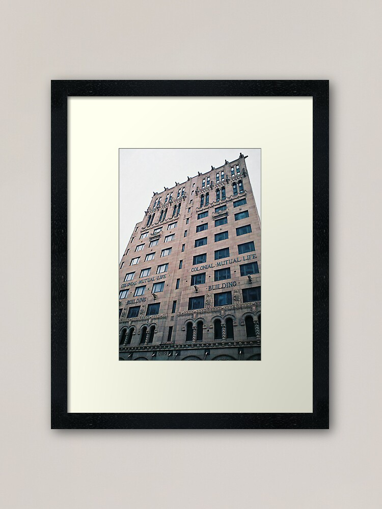 """Alternate view of """"Colonial Mutual Life"""" Framed Art Print"""