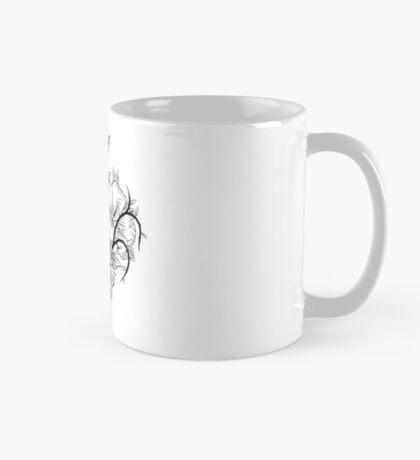 Ace of Hearts Flowers Mug