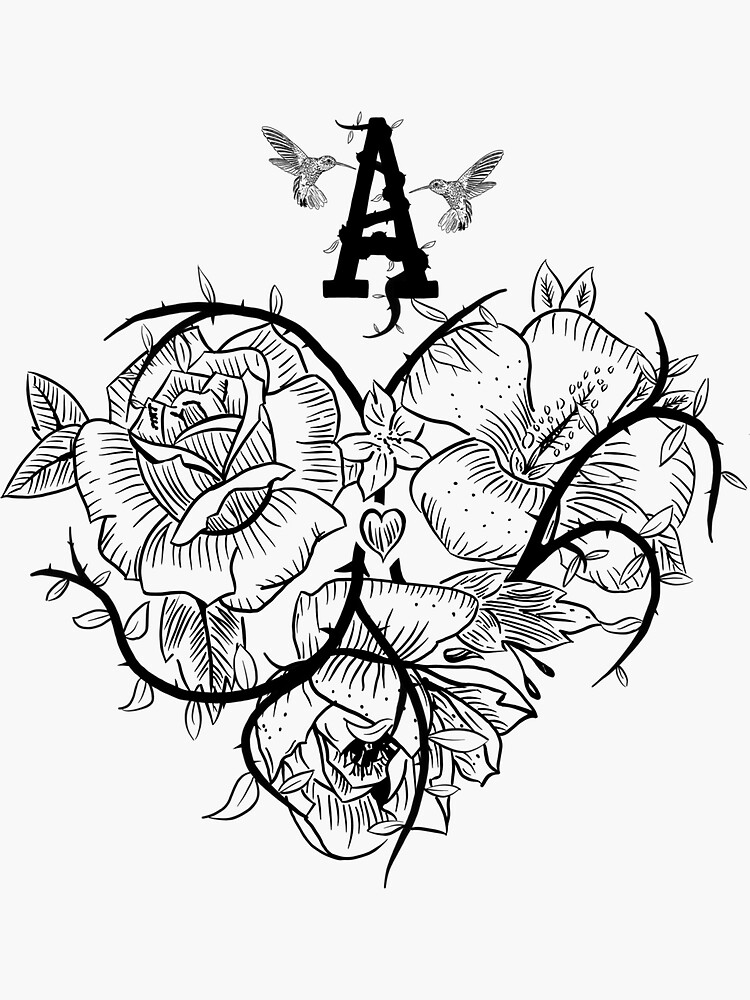 Ace of Hearts Flowers by fullrangepoker