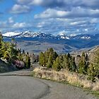 Yellowstone Wyoming USA in April  by AnnDixon