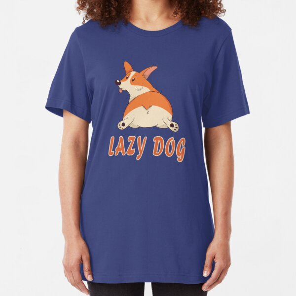 Lazy Dog / Lazy Dog / Gift Slim Fit T-Shirt