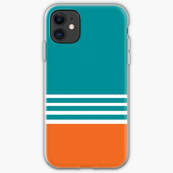 Miami Dolphins Football Fans Florida Sports iPhone Soft Case