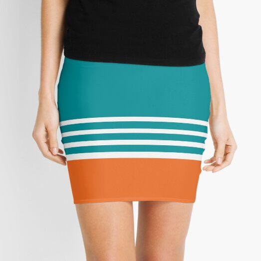 Miami Dolphins Football Fans Florida Sports Mini Skirt