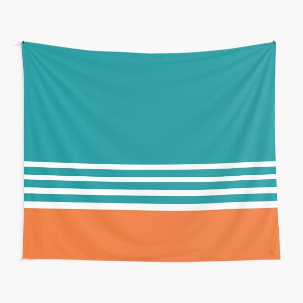 Miami Dolphins Football Fans Florida Sports Tapestry