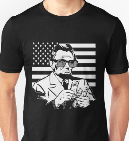Abe Lincoln Merica design T-Shirt
