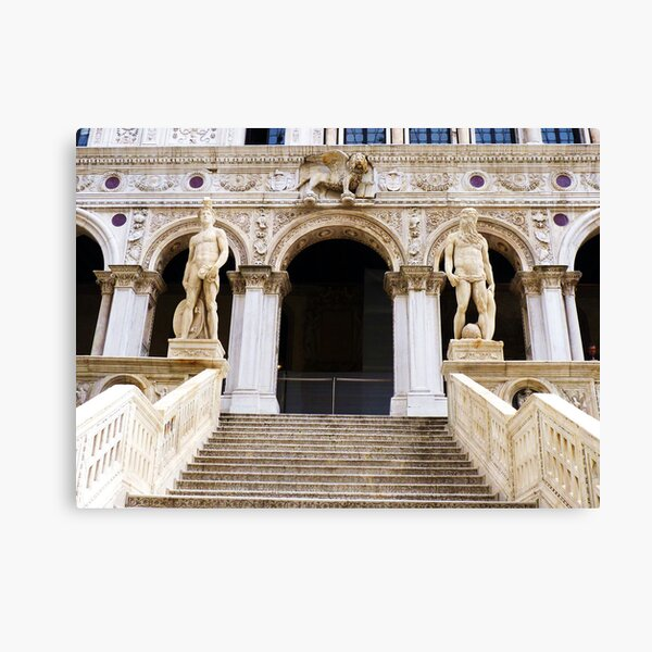 Staircase at the Doge's Palace, Venice Canvas Print