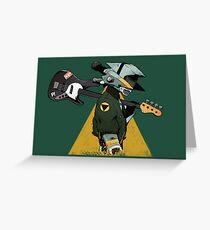 Tarjeta de felicitación Guitarra FLCL