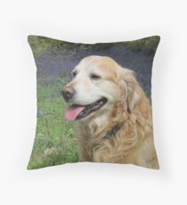 sam looking glam Throw Pillow