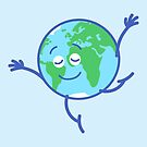 Cute planet Earth dancing graciously by Zoo-co