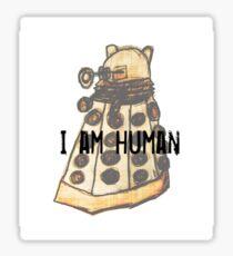I Am Human Sticker
