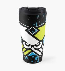Splatoon - Turf War (Blue Splat) Travel Mug
