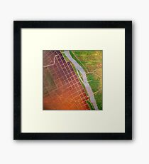 The River is the Portal #1 Framed Print