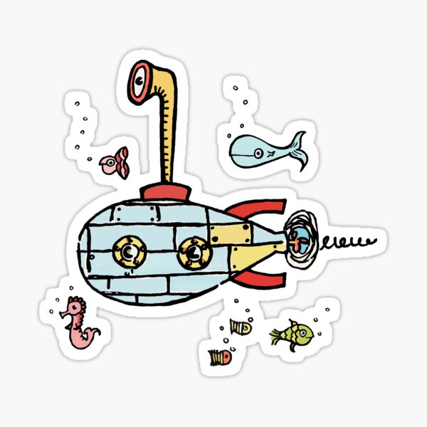 Submarine Sticker