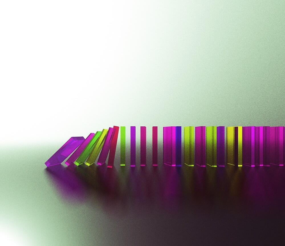 Domino Effect 3 by Idle-Iterations
