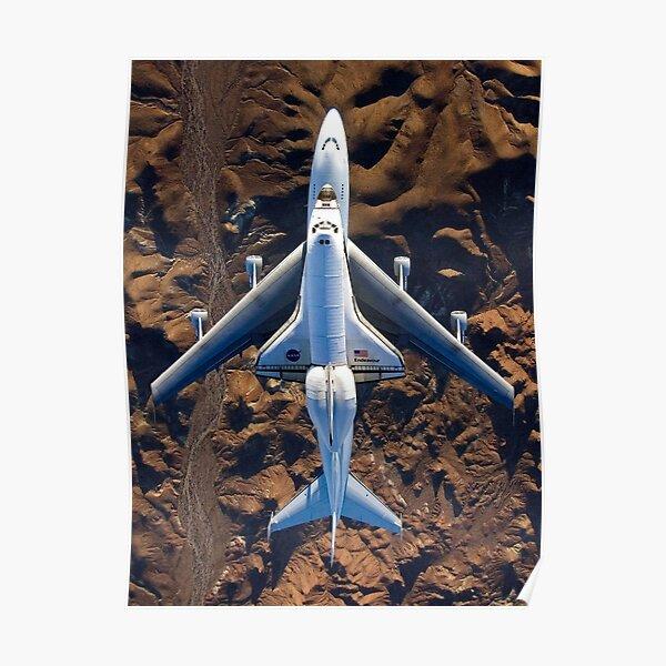 Shuttle Carrier Aircraft Endeavour Poster