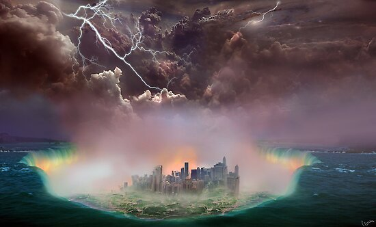 Great Flood by Igor Zenin