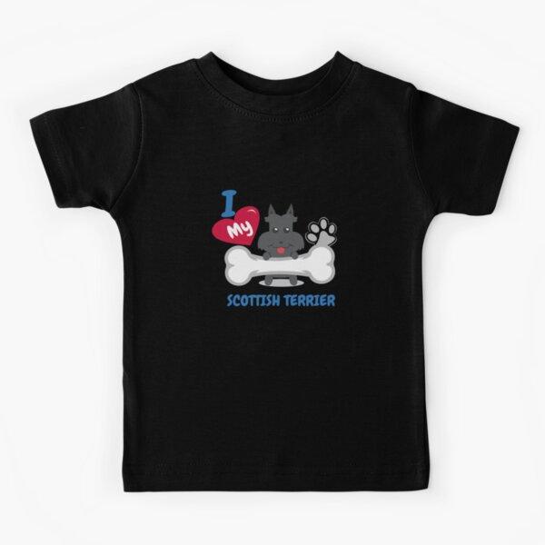 SCOTTISH TERRIER - I Love My SCOTTISH TERRIER Gift Kids T-Shirt
