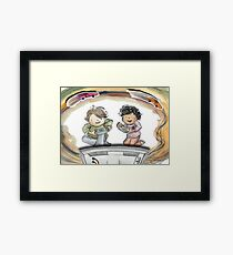 Video Game Players Framed Print