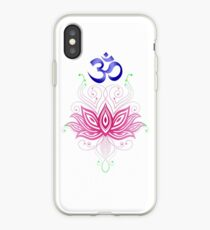 Lotus-Om iPhone Case