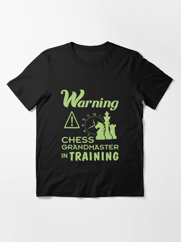Alternate view of Funny Chess Grand Master in Training Gift for Girls & Boys Essential T-Shirt