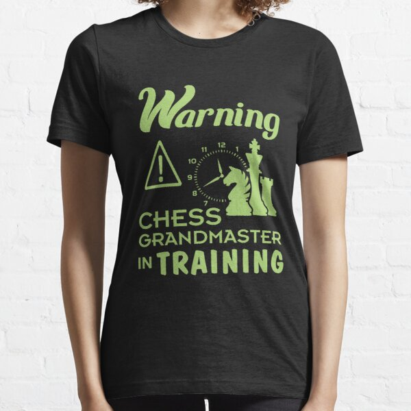 Funny Chess Grand Master in Training Gift for Girls & Boys Essential T-Shirt