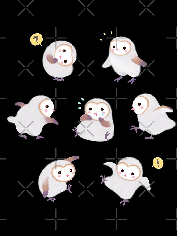 Baby barn owls by pikaole