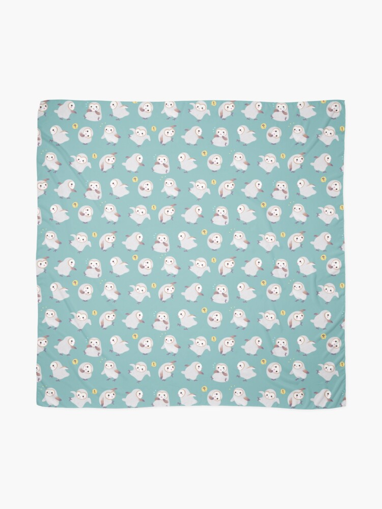Alternate view of Baby barn owls Scarf