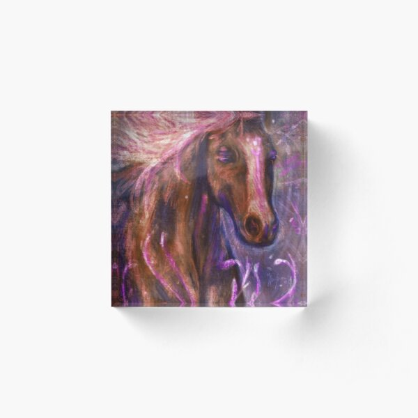 Enchanted Horse Acrylic Block