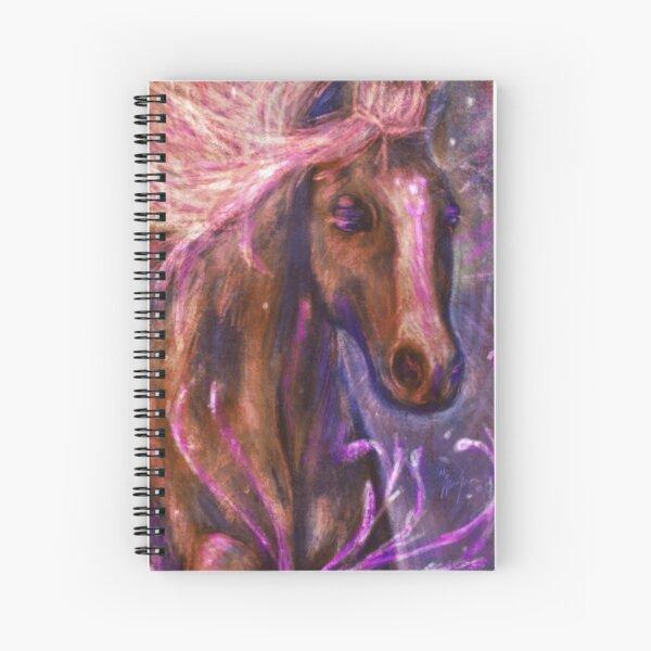 Enchanted Horse Spiral Notebook